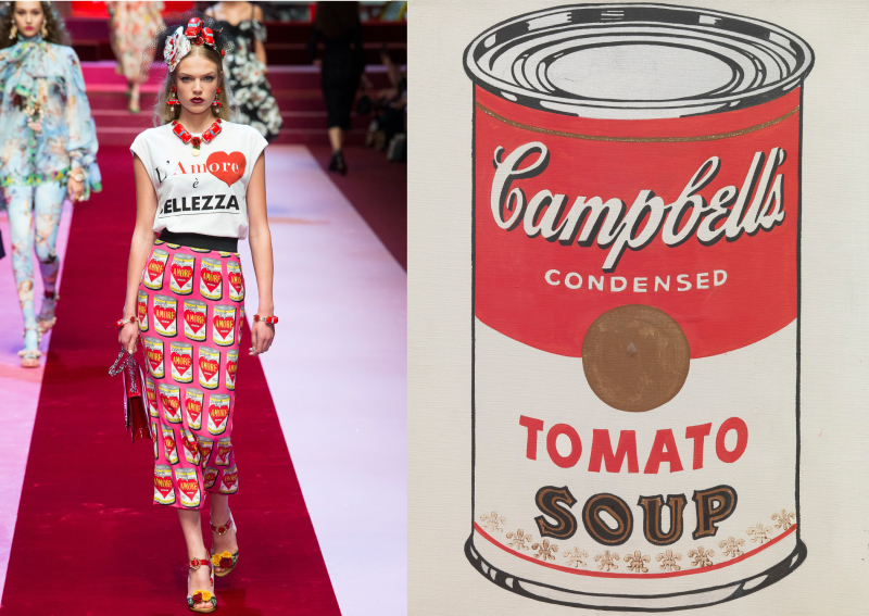 aff69ca6 Then came another big inspiration with food prints: one skirt featured  reinvented