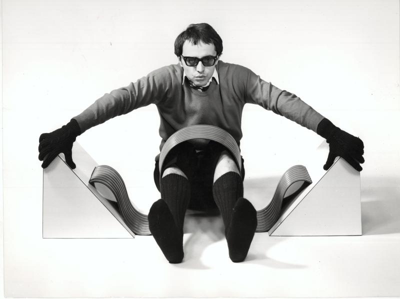 4_Ugo Nespolo  Condizionale  1967_140x24 cm
