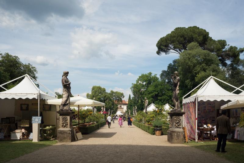 Giardino Corsini viale centrale durante AeP ph Alisa Martynova