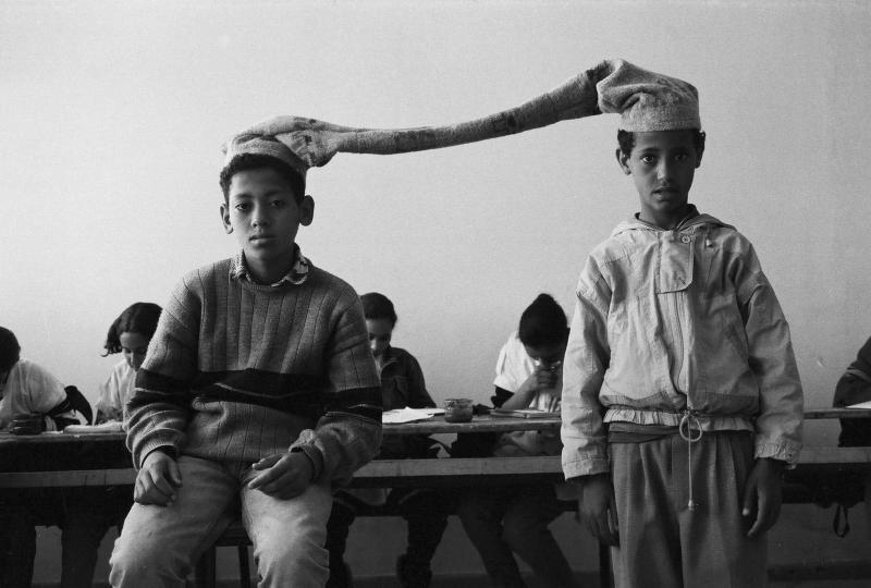 Hicham Benohoud  Untitled  La salle de classe  1994-2002  silver photography on Baryta paper  50 x 60 cm  courtesy the artist (2)