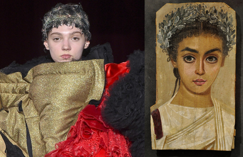CDGAW18_Fayum Mummy Portrait Mask_Girl