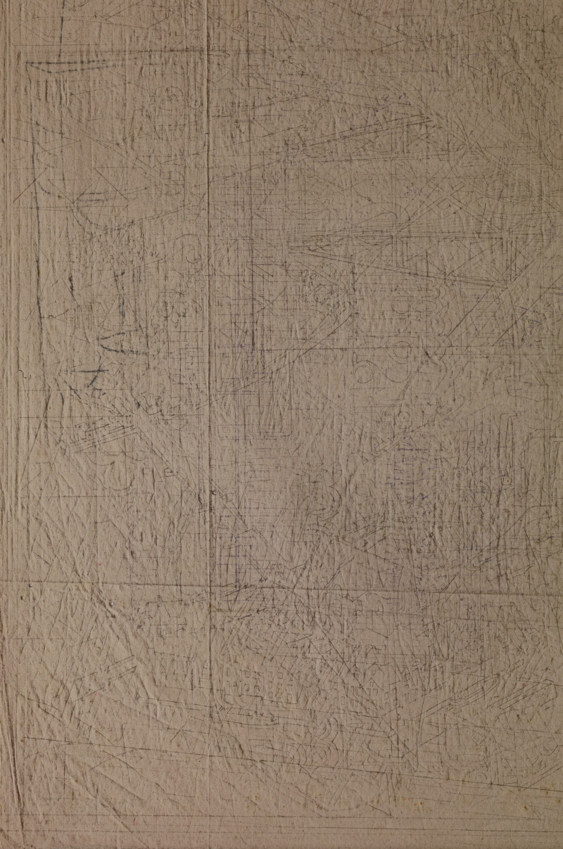 Carbonpapier M.C. Escher (circa 1938). Foto Erik en Petra Hesmerg.