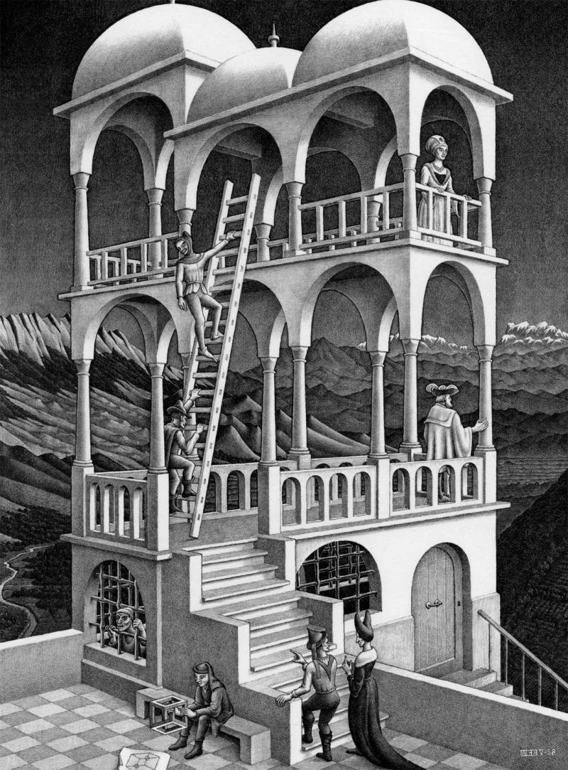 Escher_Belvedere