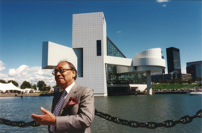 I. M. Pei_Rock and Roll Hall of Fame