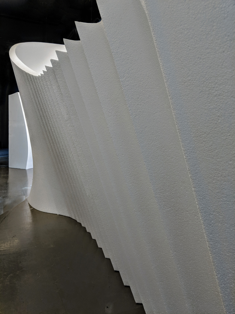 02_Foam grotto_Digital Turn_The Building Centre_by ZHA