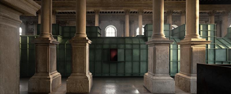 2. Steel Home Still  exhibition rendering