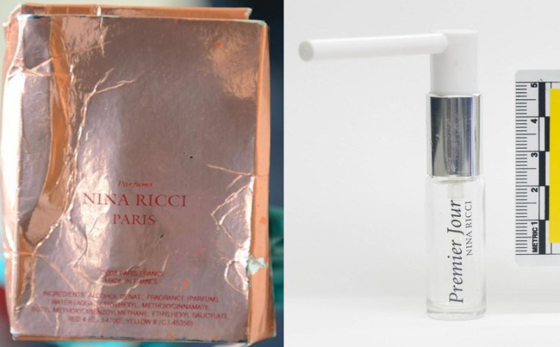 Image result for nina ricci curly cover girl for amesbury novichok