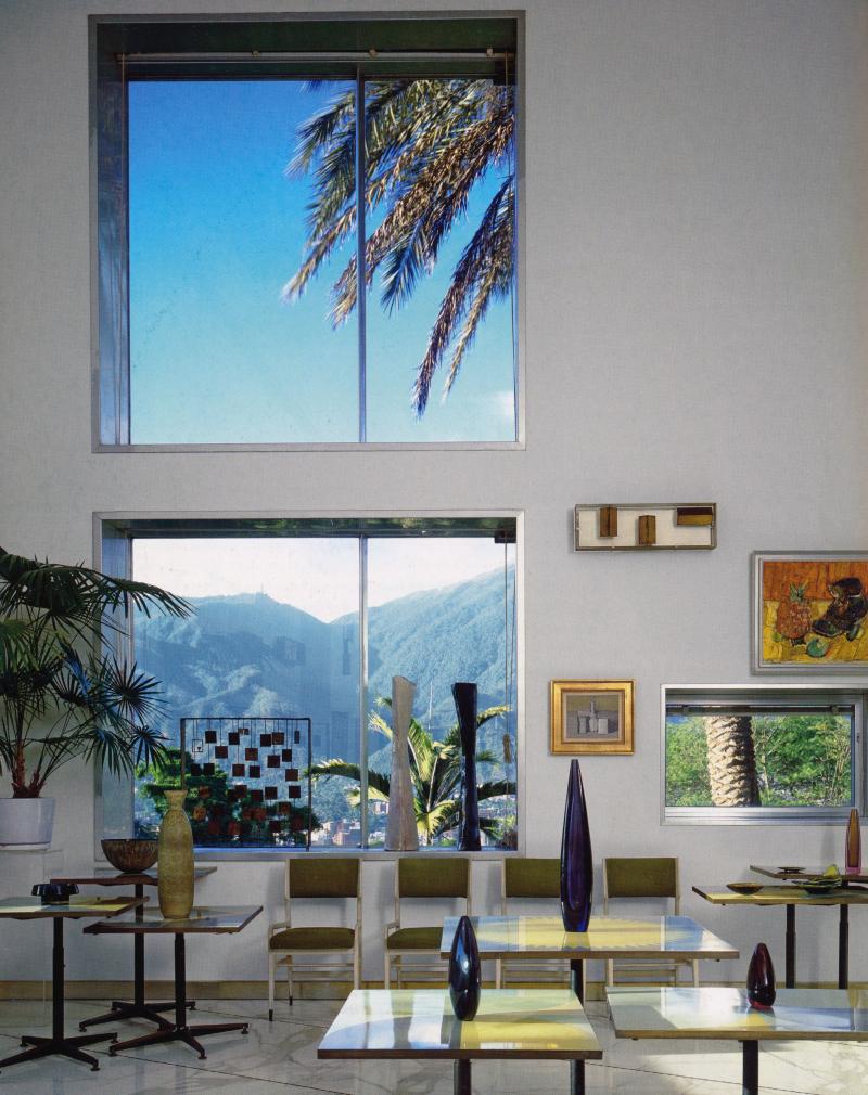 Villa Planchart - Caracas  Venezuela  1957 © Jason Schmidt